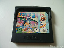SEGA GAME GEAR / Jeu Sonic the Hedgehog 2 [ Pal Version ]