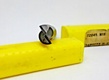 """Bassett 72045, MSE- V, 1/2""""x 1"""" x 3"""" Solid Carbide S/E 2 Flute End Mill (C14B5)"""