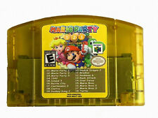 Nintendo N64 18 in 1 Card Mario Party 1 2 3 Aggregation +15 NES Edition US Card