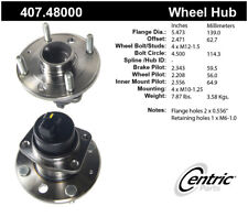 Wheel Bearing and Hub Assembly-4-Wheel ABS Rear Centric 407.48000
