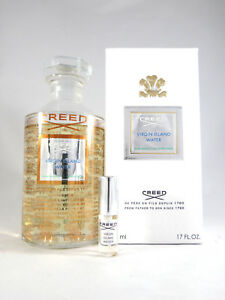 VIRGIN ISLAND WATER by Creed - Eau de Parfum - 5ml - sample  - 100% GENUINE