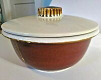 Hull Pottery Provincial  Serving Ware Casserole With Lid 3 Pint Oven Proof