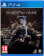 Middle Earth Shadow Of War (PS4) New, Sealed UK PAL Quick Dispatch