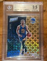 💎2017 Stephen Curry PANINI NATIONAL CONVENTION GOLD PYRAMDS BK2 /10 BGS 9.5 PSA