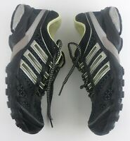 Adidas Adiprene Women's Size 8 Athletic Running Shoes Black Lime Sneakers #163