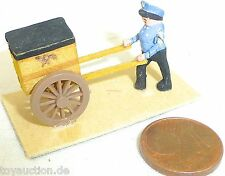 postkarre con Schaffner madera Preiser N° 444 1:87 H0 #GD1 PR6 å