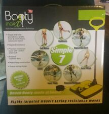 Booty Max Home Workout Resistance Band Training for Making Toned Bodies SHIPFREE