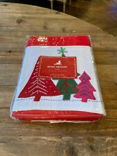 New In Packaging- Pottery Barn Kids Christmas Tablecloth