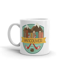 Vancouver Canada haute qualité 10 oz (environ 283.49 g) Café Thé Tasse #9186
