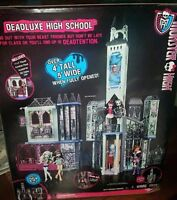 Monster High Deadluxe High School Playset Deluxe * Spooky doll house * By Mattel