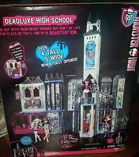 Monster High Deadluxe School Playset Deluxe Spooky Haunted Doll House By Mattel
