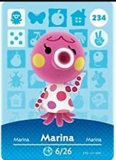 Animal Crossing: New Horizons Amiibo Marina #234 (Series 3) NFC Card-NO ARTWORK