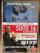 Pete Postlethwaite, Antonie Kamerling SUITE 16 ~ 1994 Erotic Drama | UK DVD