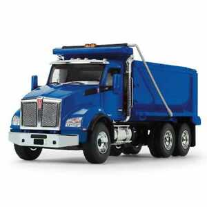 2021 NEW 1:50 First Gear *BLUE* KENWORTH T880 DUMP TRUCK *NIB*