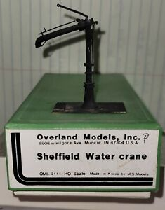 HO Scale Overland Models OMI-2111 Sheffield Water Crane - painted