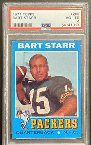 1971 Topps Bart Starr PSA 4 #200