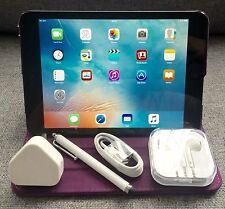 Excelente Apple iPad Mini 16 GB, Wi-fi + 4G (Desbloqueado), 7.9 in (approx. 20.07 cm) - Negro + extras