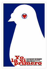 Cuban movie Poster 4 Spanish film I SAW HER FIRST.Dove.Home room wall decoration