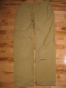 """Classic Vintage 1980's Men's Patagonia Stand Up Pants 34"""" waist."""