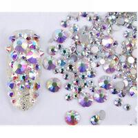 3g 3D Nail Art Decoration Chameleon Opal  Flat Bottom Rhinestone Decor
