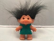 "Original Vintage Thomas DAM Troll Doll.Made In Denmark Stamped On Foot 3"" High"