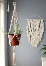 Macrame Plant Hanger Kit, DIY Instruction Box, Gift Idea