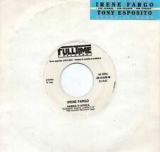 IRENE FARGO TONY ESPOSITO disco 45 MADE in ITALY promo JUKE BOX 1992