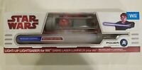 2009 Star Wars Light-up Lightsaber for NINTENDO Wii Power A NEW IN BOX