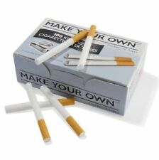 400 x Make Your Own RIZLA CIGARETTE King Size FILTER TUBES ... Joblot , 4 x 100