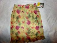 Women's Rikki J. New York Floral Skirt...Size Small NWT