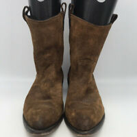 Frye Brown Men's Suede Boots Size 11