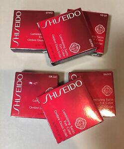 Shiseido Luminizing Satin Eye Color CHOOSE SHADE NIB FREE SHIPPING