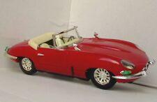 Luxe coche MF341 Push & Go Hojalata Jaguar E Tipo Coche Modelo parte superior abierta rojo 1:18th