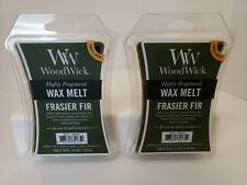 Lot of 2 WoodWick Wax Melt Frasier Fir 3 oz each New