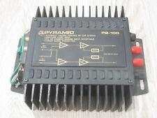 Pyramid PB-100 Phase III Power Amplifier Car Audio Amp PB100