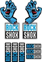 Enduro RockShox Sektor 2018 Style Sticker Decal Sets DH Jungle