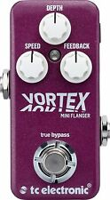 New TC Electronic Vortex Mini Flanger Guitar Effects Pedal!