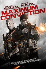 Maximum Convinction - Steven Seagal, Steve Austin - DVD Minerva