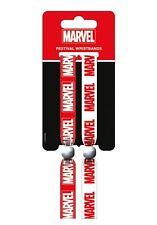 MARVEL COMICS Marvel (Logo) Pack Of 2 Fabric Festival Wristbands FWR68067