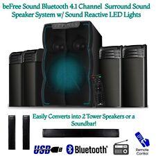BEFREE Surround Sound BLUETOOTH Home System CONVERT TO TOWER SPEAKERS / SOUNDBAR