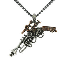 The Duelist Cantosonic Wave Gun Pendant (Retired) - Alchemy Gothic Steampunk