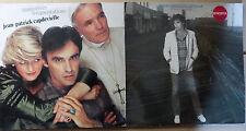 lot de 2 disques vinyles 33t JEAN PATRICK CAPDEVIELLE mauvaises fréquentations..