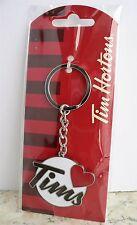 Tim Hortons - I LOVE TIMS Key Chain - 2016 Christmas Coffee Keychain