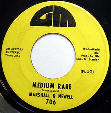 MARSHALL & NEWELL 45 Medium Rare / Papa Joe POPCORN Soul WAH WAH e486