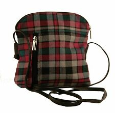 Borthwick Modern Tartan Handbag 100% Wool 60% off RRP (Style 580)