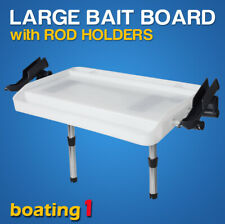 Large Bait Board Rod Holder Mount with Rod Holders ---Boat/Fishing/Cutting
