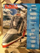 Kaman Kmax Helicopter Poster (28 x 22 1/2) Aviation, Aircraft