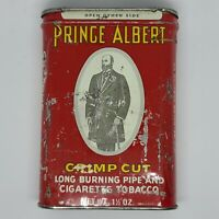 Vintage PRINCE ALBERT Crimp Cut Tobacco Tin Box Empty