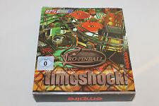 PRO-PINBALL timeshock! Seltener PC MS DOS Flipper komplett im ORIGINALKARTON