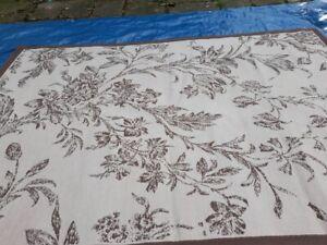 ⚜️ Laura Ashley Foliage Pattern Rug